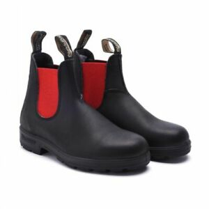 NWT Blundstone 508 Black Leather Boots With Red sides WOMENS SERIES