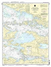 NOAA Chart Gananoque, Ont., to St. Lawrence Park. N.Y. 17th Edition 14773