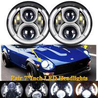 2x60W LED Lamp For Datsun 240Z 260Z 280Z 280ZX 1970-78 Headlight Bulb Conversion