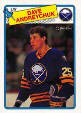 (HCW) 1988-89 O-Pee-Chee #163 Dave Andreychuk NM-MT Sabres