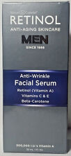 New Retinol Men Anti-Wrinkle Facial Serum Anti-Aging Skincare Vitamin A 1 fl oz