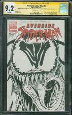 Amazing Spider Man 1 CGC 9.2 SS De La Rosa Original art Venom Sketch no 8