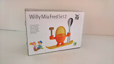 WMF Eierbecher Mc Egg orange Willy Mia Fred Set