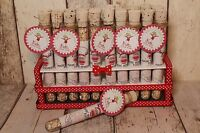 Large Magic Reindeer food tube-For Christmas Eve Box-Perfect for little hands