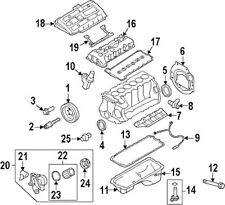 NEW BMW GENUINE OEM ENGINE OIL FILTER KIT 11428683196
