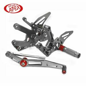For YAMAHA YZF R6 2017-2020 Adjustable Motorcycle Rearsets Rear Set Footrests