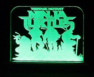 TMNT teenage mutant ninja turtles green led light / night light