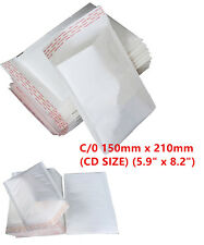 100 C/0 C0 White Padded Bubble Lined Postal Envelopes MAIL Cheap 150 x 210mm