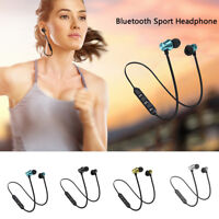 Bluetooth 4.2 Headphones Wireless Magnetic Sports Earphones Earbuds Gym Headset