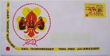 Stadspost Den Helder 1982 - FDC World Scouting Abel Tasmangroep Julianadorp