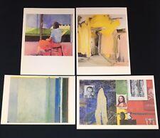Willem De Kooning JASPER JOHNS Diebenkorn Whitney Museum of American Art CARDS