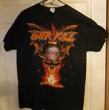 Overkill Cleveland, OH 2015 Special Event Official Tour Shirt Unworn Size XL