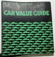1978 Chevrolet Dealer Data Book Sales Reference Album Camaro Corvette Nova