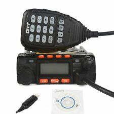 QYT KT-8900 VHF/UHF 25W Two Way Car Mobile Radio + Programming Cable