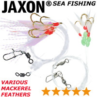 Mackerel Feathers Various Models Lure Sea Fishing Sandeel Mackeral Bass LRF COD
