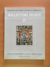 Bollettino d'arte n. 27 - AA.VV. - Libreria dello Stato  3180