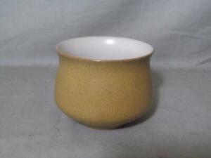 Denby Ode Small Open Sugar Bowl  Mustard Yellow