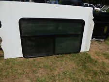 "RV Trailer Window, 60""X36"", Emergency Exit, W/Screens No Rings, Insulated Gl. #9"