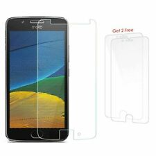Screen Protector for Motorola Moto G5 Buy-1-Get-2-Free Soft Clear Crystal