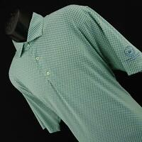 Mens Turtleson Tour Performance Short Sleeve Casual Polo Golf Shirt Size Large