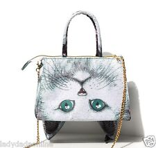 Japan Muchacha Super Cute Cat Face Kid Tote Bag Chain Handbag Shopping ON SALE