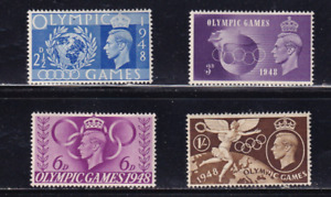 Great Britain Sc #271-274 !948 Olympic Games MH