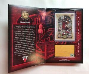 Michael Jordan Class of 2009 Upper Deck Jordan 23 Hall Of Fame HOF09 Game Floor