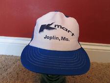 Vintage Jopln  Missouri K Mart Kmart Mesh Snapback Trucker Hat Cap Store blue