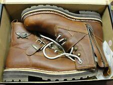 "HARLEY DAVIDSON MEN'S -SANDSTONE 94015- FLAGSTAFF 6"" STRAP BOOTS"