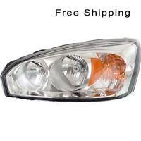 Halogen Head Lamp Assembly Driver Side Fits 2004-2008 Chevrolet Malibu GM2502235