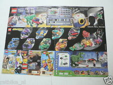 LEGO BROCHURE FLYER CATALOG TOYS 2001 ALPHA TEAM DUTCH 2 PAGES 087