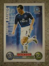 C208 Leighton Baines Everton #95 Topps Match Attax Football 2011-12 Trade Card