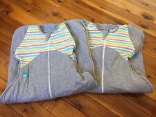 2 x Large 8.5-11kg Winter Warmers 50/50 transitional Love To Dream Swaddles
