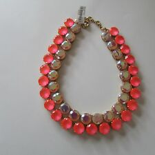 J. Crew LAYERED CRYSTAL NECKLACE ~ F5153 ~Sold Out~ NWD