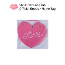 SNSD Girls' Generation 1st Fan Club SONE Official Goods - Name Tag
