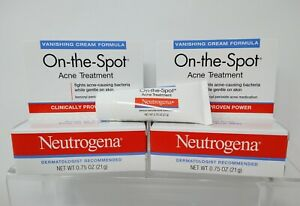 2 Neutrogena On-the-Spot Acne Treatment 2.5 Benzoyl Peroxide 0.75 oz (21 g)