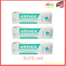 Elmex Sensitive Professional Pro Argin 3x75ml. Newest Formula!!