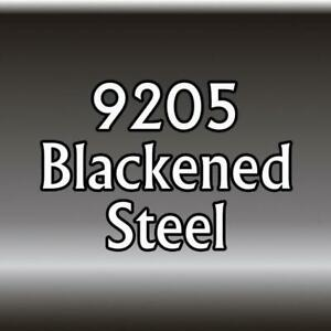 Reaper Miniatures 09205: Blackened Steel - Master Series Paint Core Paint