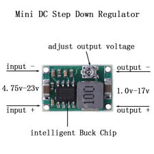 3A Mini DC-DC step down converter volt regulator 5V-23V to 3.3V 6V 9V 12V FT