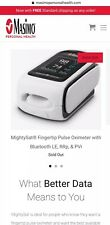 Masimo MightySat 9900 Fingertip Pulse Oximeter New In box - Can Ship Now