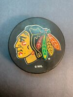 NHL Puck Ravens Athletic Chicago Blackhawks Official Licensed Product Used