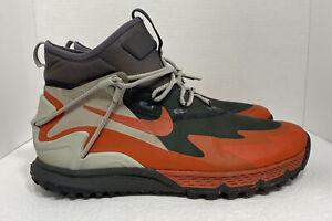 Nike Terra Sertig Boot Hiking Air Zoom ACG Red Black Size 12 916830-003