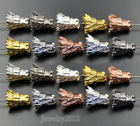 Fashion Solid Metal Dragon Head For Bracelet Necklace Connector Charm Beads