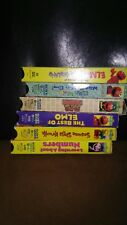 New listing SESAME STREET ELMO'S WORLD LOT OF 13 Vintage VHS