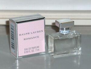ROMANCE RALPH LAUREN Women's Eau de Parfum .25 oz, 7 ml, Miniature Splash, NEW