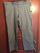 NWT Men's 40 X 32 Woolrich Nomad Canvas Pants Field Gray