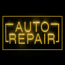 190049 Auto Repair Foreign Technical Mechanical Parts Display Led Light Sign