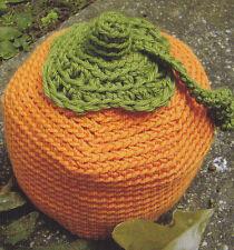 Crochet Pattern ~ KIDS ADORABLE PUMPKIN HAT Halloween ~ Instructions
