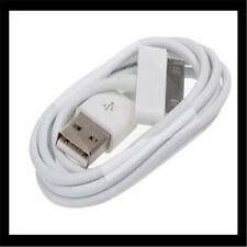iPhone 1M/3FT 3x 10x lot Black White Color 30-pin USB Charging Sync Cable iPod