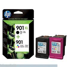 901XL Schwarz & 901 Farbe Tinte Original OEM Inkjet Patronen für HP J4535